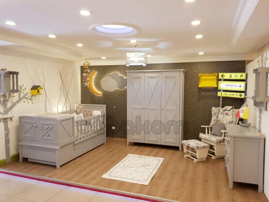 X bebek odası