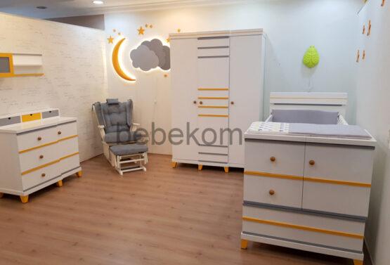 Çizgi bebek odası